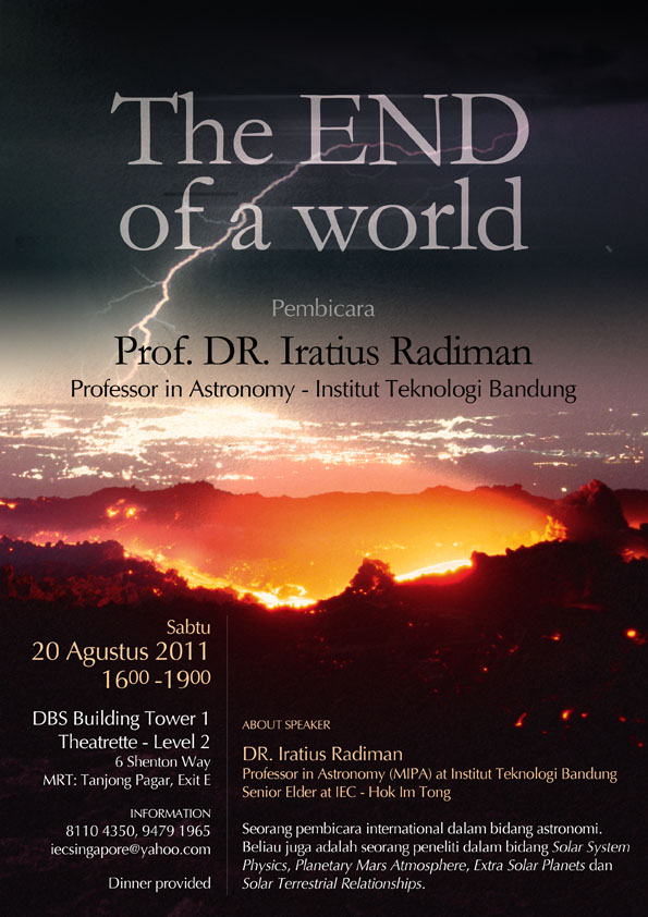 Seminar: The END of A World
