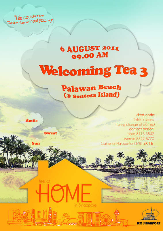 "Welcoming Tea 3: ""HOME"""