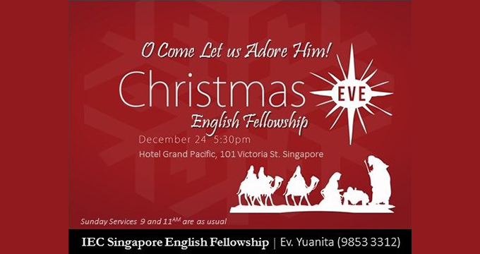 IEC Singapore English Fellowship - 24 Dec 2017
